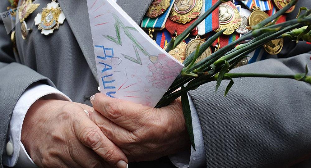 俄二戰老戰士