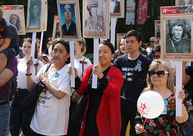 在北京每年有越來越多的人參加 「不朽軍團」活動