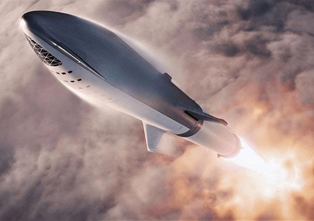 馬斯克有關在大洲間用火箭運輸人的項目不會盈利