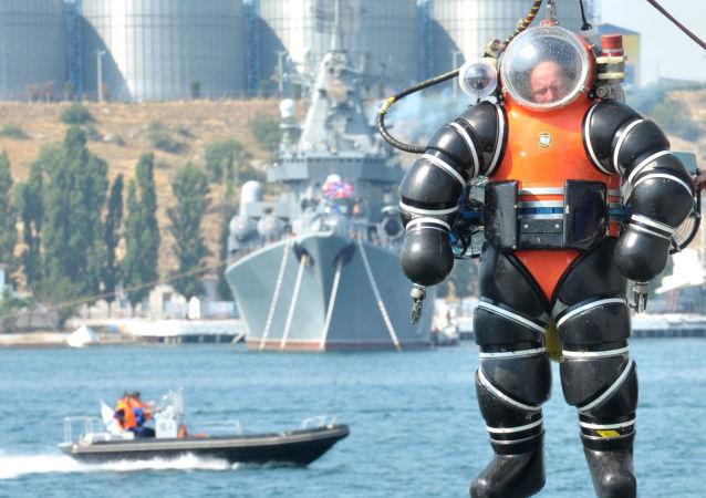 黑海艦隊的潛水員