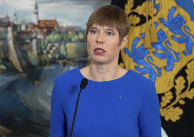 愛沙尼亞總統克爾斯季•卡柳萊德