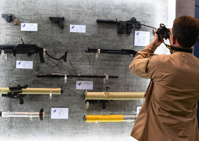 MILEX-2019 展覽,國外的衝鋒槍
