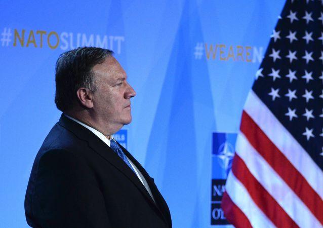 美國國務卿與卡塔爾埃米爾討論波斯灣的緊張局勢
