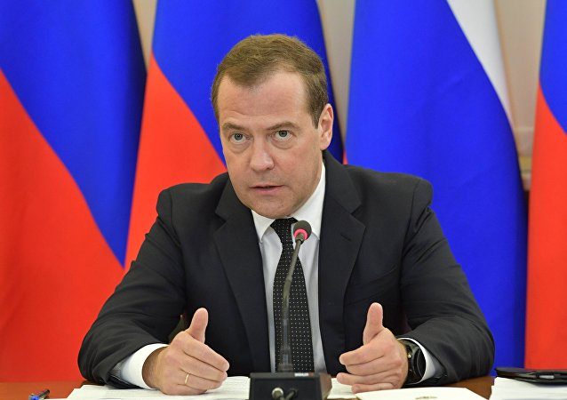 俄羅斯前總理梅德韋傑夫