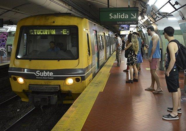 阿根廷布宜諾斯艾利斯地鐵