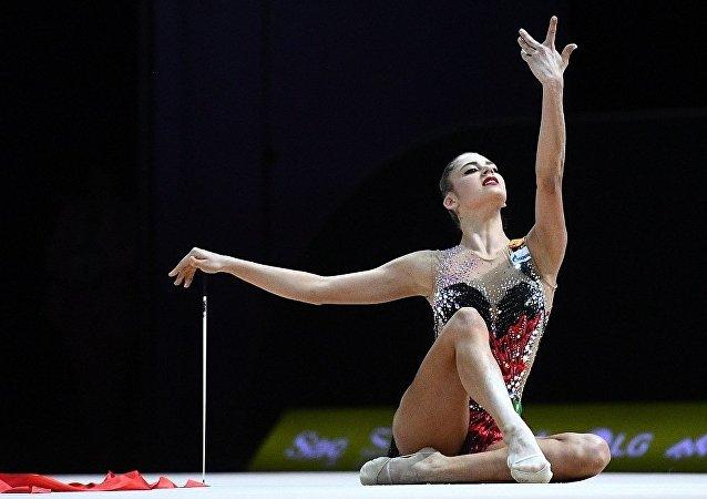 俄藝術體操隊奪得歐錦賽團體金牌