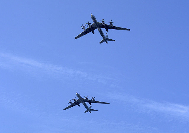 2架圖-95飛機