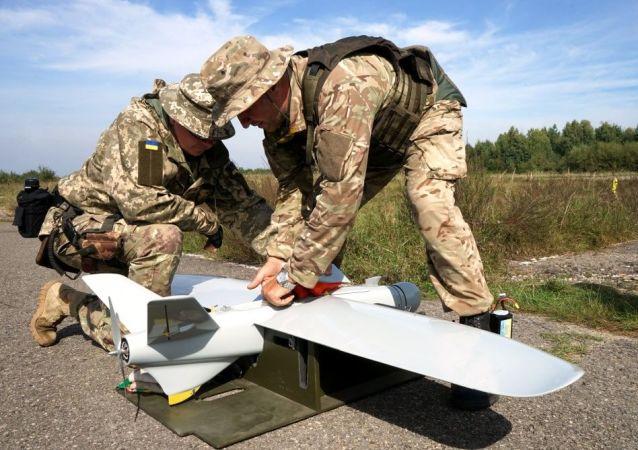烏安全部隊無人機