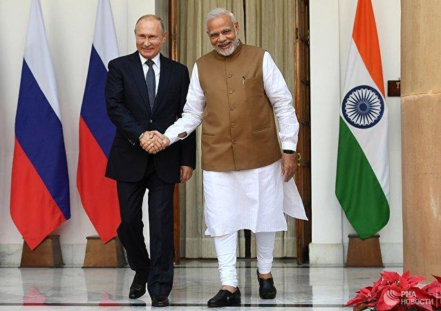 俄外長稱自己通過印度外長轉達普京致莫迪總理的口信