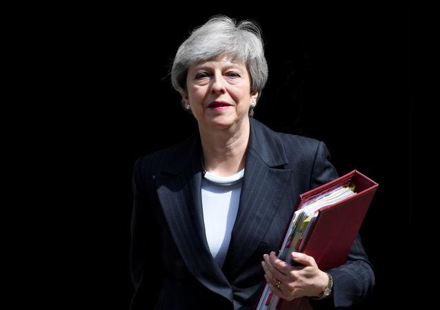 英國首相特雷莎·梅。