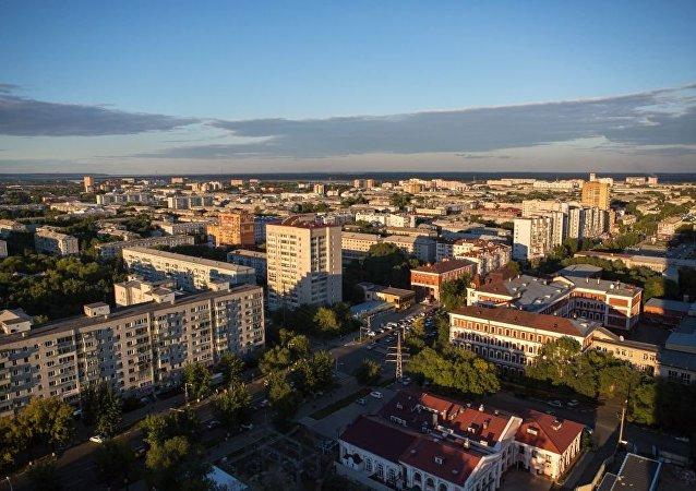 阿穆爾州首府布拉戈維申斯克