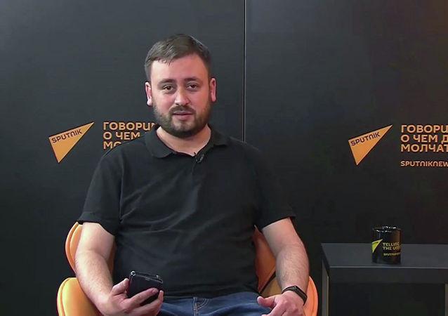 俄羅斯「衛星通訊社立陶宛語網站」編輯卡謝姆