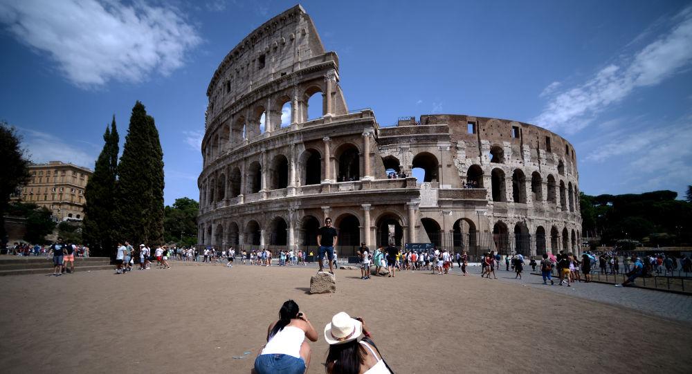 羅馬鬥獸場牆