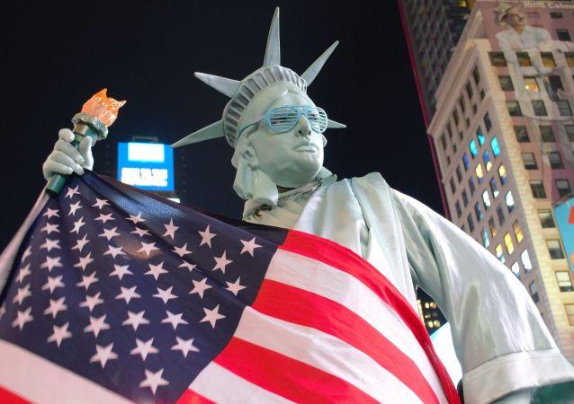 美國教授:美國是「衰落的超級大國」