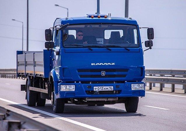 俄技術集團:卡瑪茲無人卡車很快或將穿梭在俄羅斯的大街小巷
