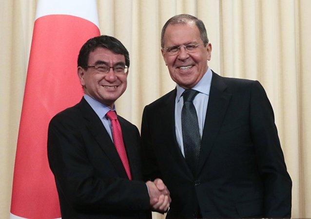 日本外相河野太郎:俄日關係出現積極進展