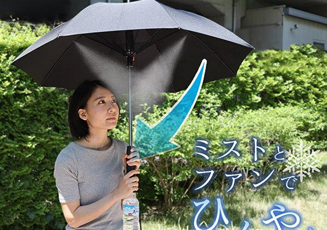 日本推出夏日避暑神器