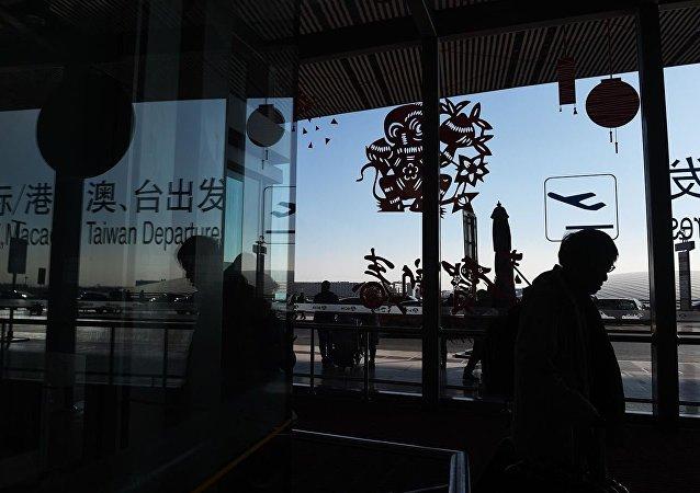 北京首都機場因天氣原因取消航班227架