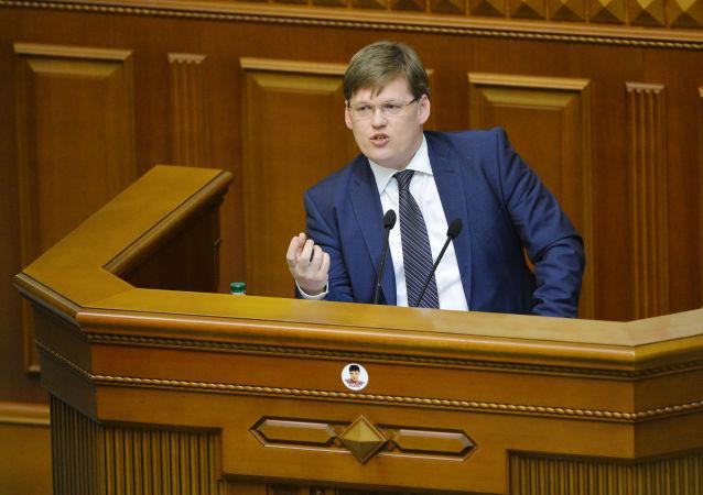烏克蘭副總理帕維爾·羅森科