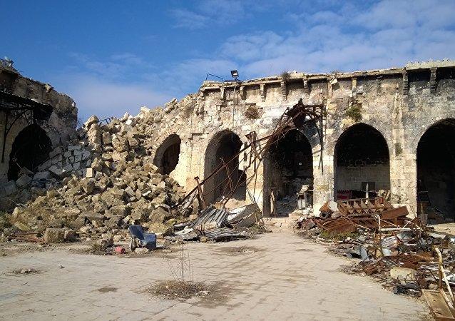 敘利亞阿勒頗東部地區積極展開住房和基礎設施修復工作