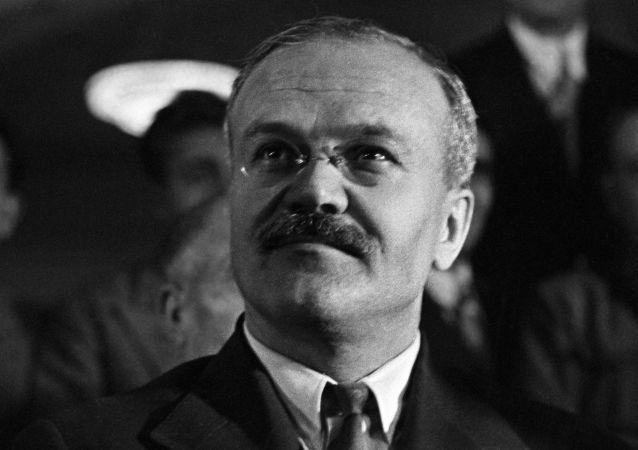 蘇聯人民委員會主席維亞切斯拉夫·米哈伊洛維奇·莫洛托夫