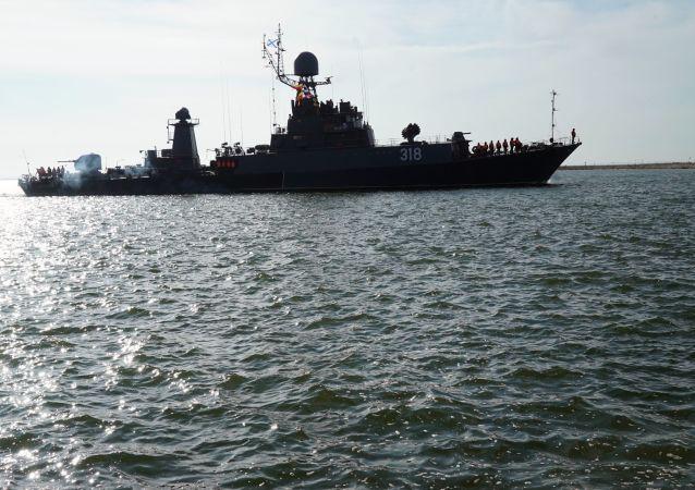 俄太平洋艦隊艦艇將在鄂霍次克海實施火炮射擊