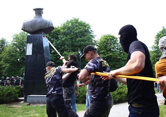 烏克蘭民族主義者在哈爾科夫