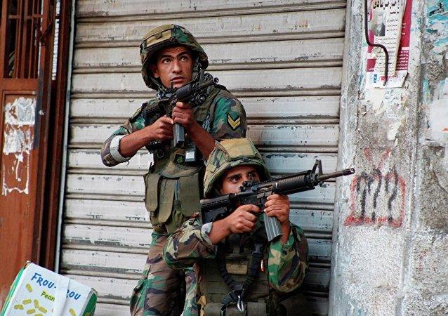 黎巴嫩政府軍