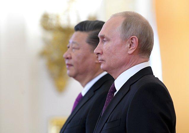俄羅斯總統普京表示,俄中將在和平解決朝鮮半島問題上繼續合作