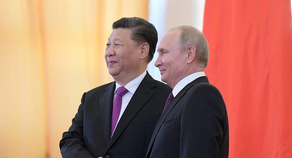普京稱俄中關係達到前所未有的高度