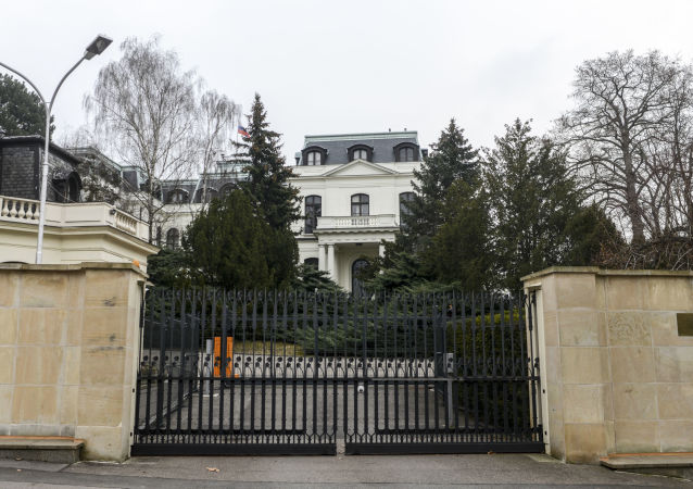俄駐捷克大使館