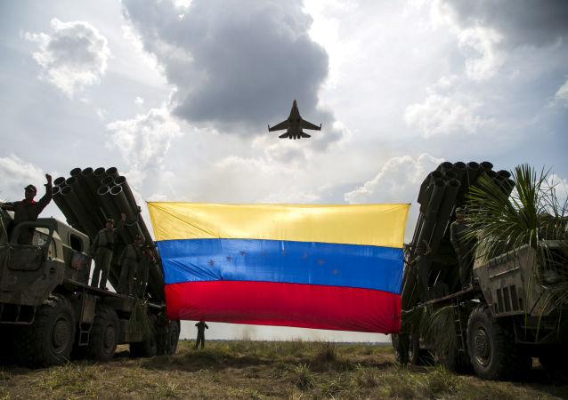 委內瑞拉空軍的Sukhoi Su-30MKV戰機