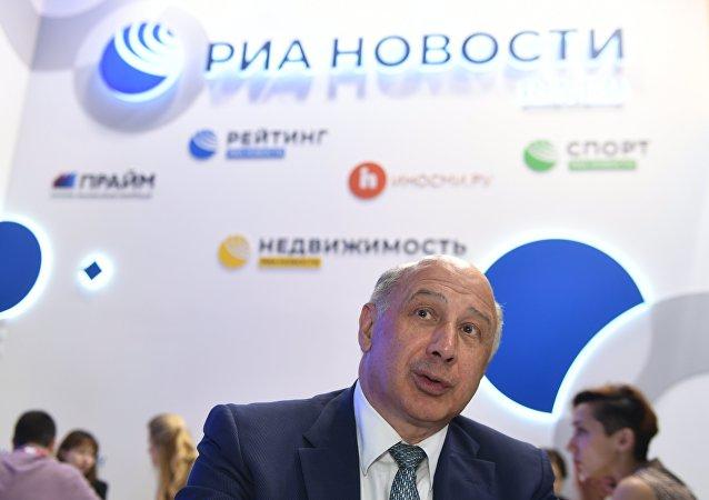 金磚國家新開發銀行(新開行)副行長卡茲別科夫