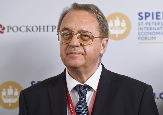 俄羅斯外交部副部長博格丹諾夫(資料圖片)