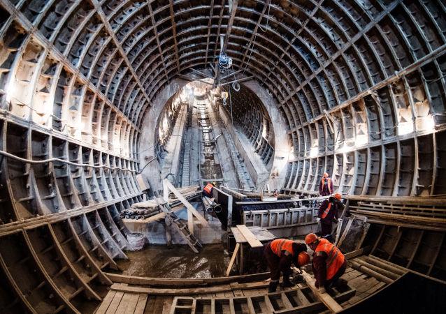 莫斯科地鐵的建造工作