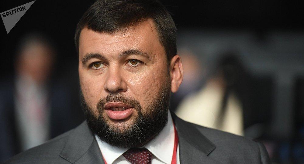 頓涅茨克人民共和國領導人普希林