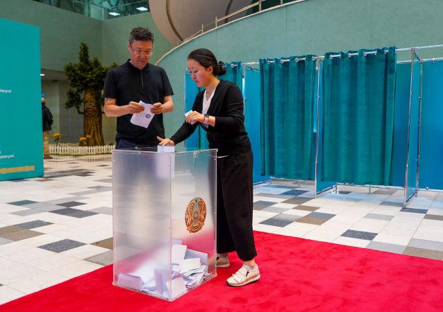 哈央選委:哈薩克斯坦總統選舉最終投票率為77.4%