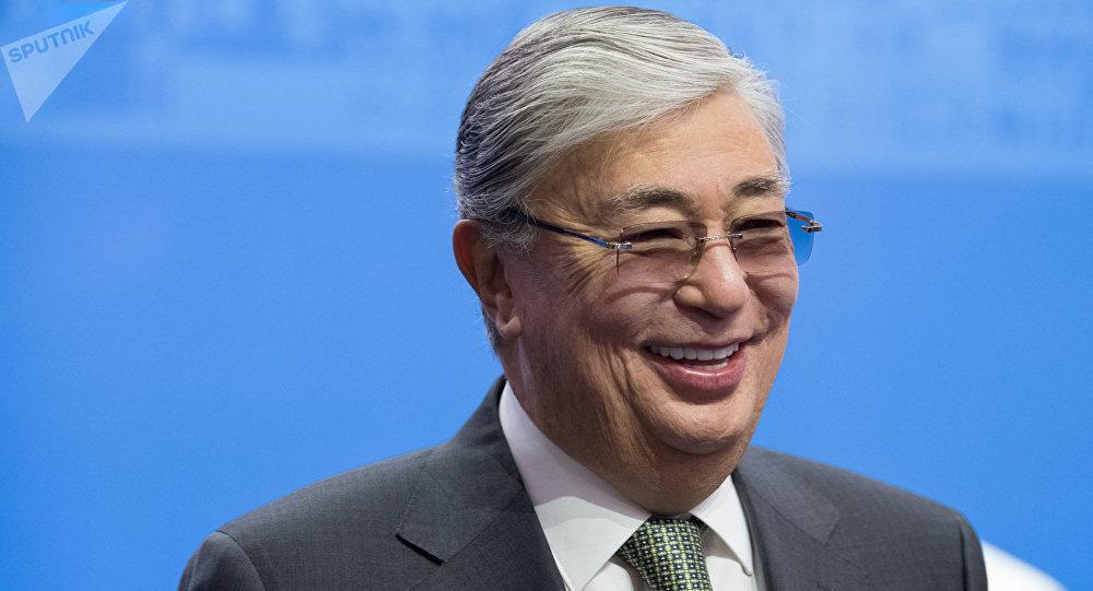 哈薩克斯坦總統在致普京的賀電中指出俄羅斯為保障國際穩定所做的貢獻