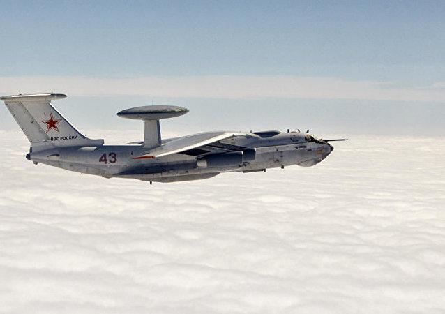俄遠程雷達探測機А-50將在北約演習期間監測黑海上空動態