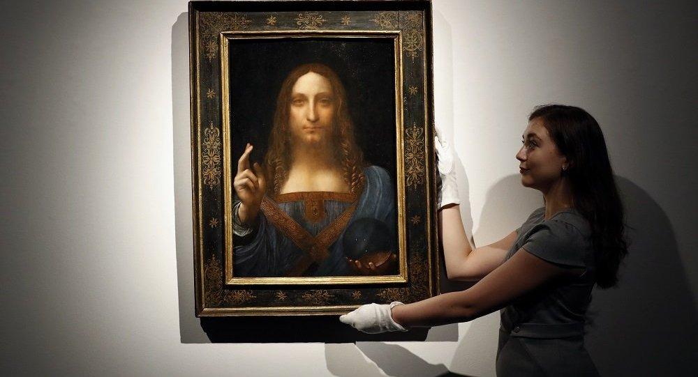 達芬奇畫作《救世主》