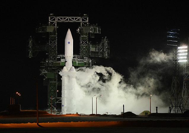 安加拉火箭發射