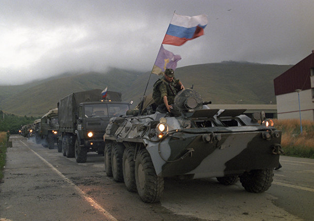俄羅斯維和人員 資料圖