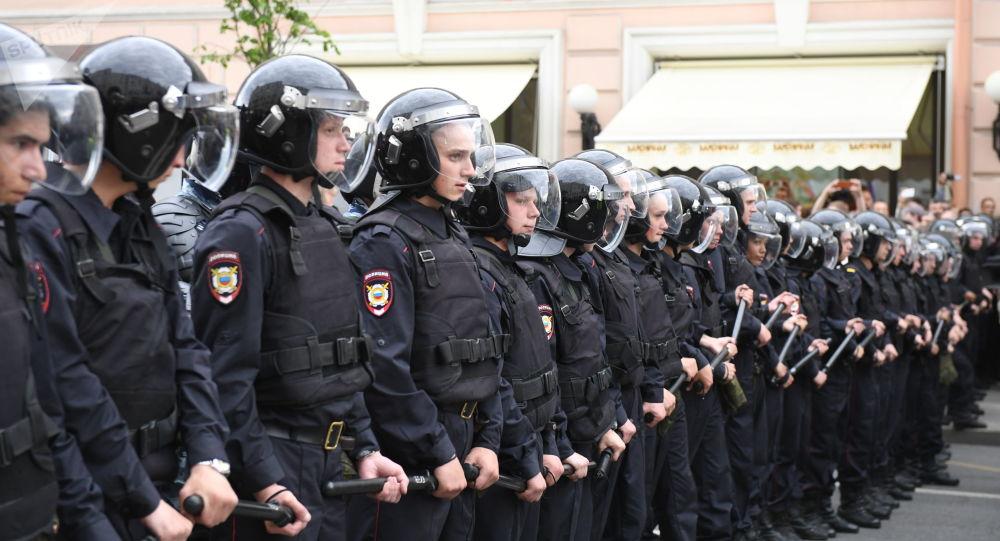 莫斯科警方