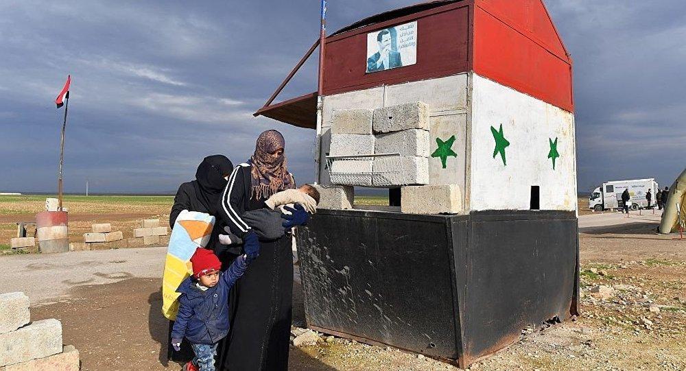 敘利亞伊德利卜省Abu al-Duhur檢查站