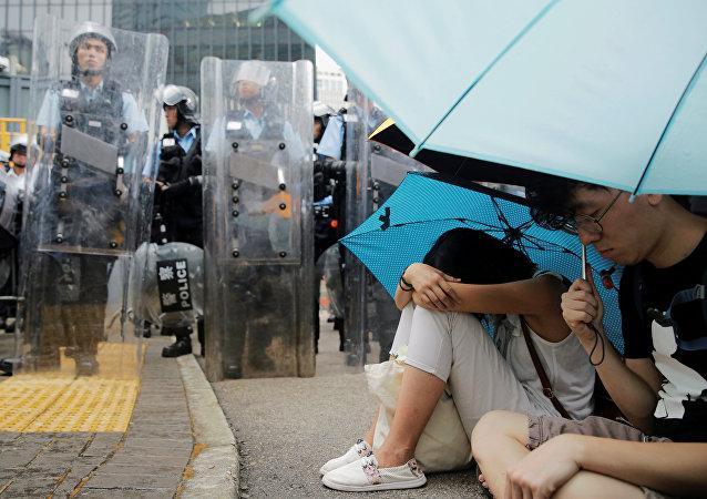 中國國務院港澳辦:461人在香港暴力衝突中受傷 其中警務人員139名