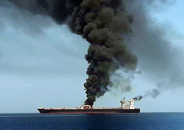 專家:襲擊油輪或許是旨在破壞日本穩定伊朗周邊局勢的努力