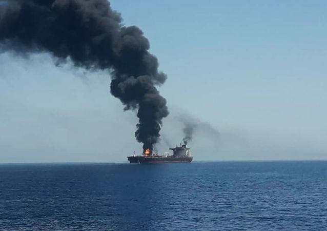 特朗普:伊朗是攻擊阿曼灣油輪的幕後黑手