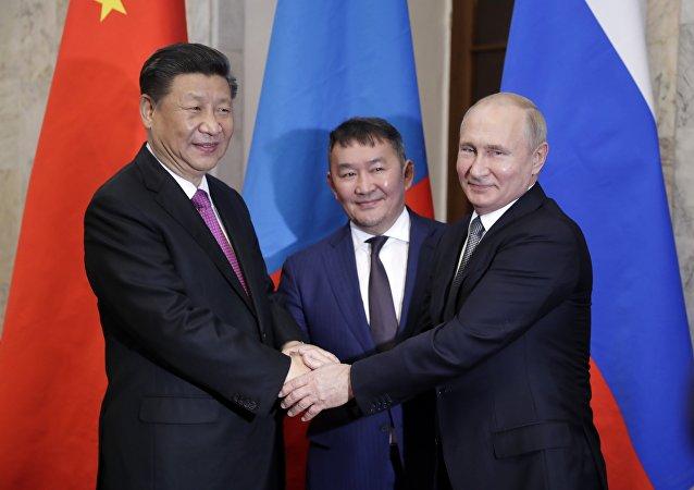 蒙古總統:中俄正在研究建設過境蒙古的天然氣管道提議