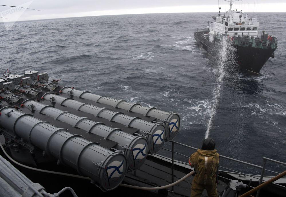 水文船BGK-2151在「Sareks-2019」海上搜救演習中