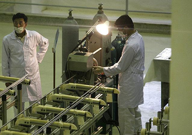 伊朗核能組織代表稱伊朗提高濃縮鈾丰度至4.5%